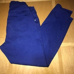 Old Navy Royal Blue Rockstar Skinny Jeans